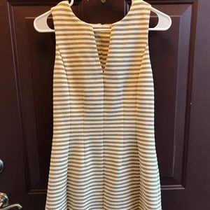 Gold and White Lilly Pulitzer dress